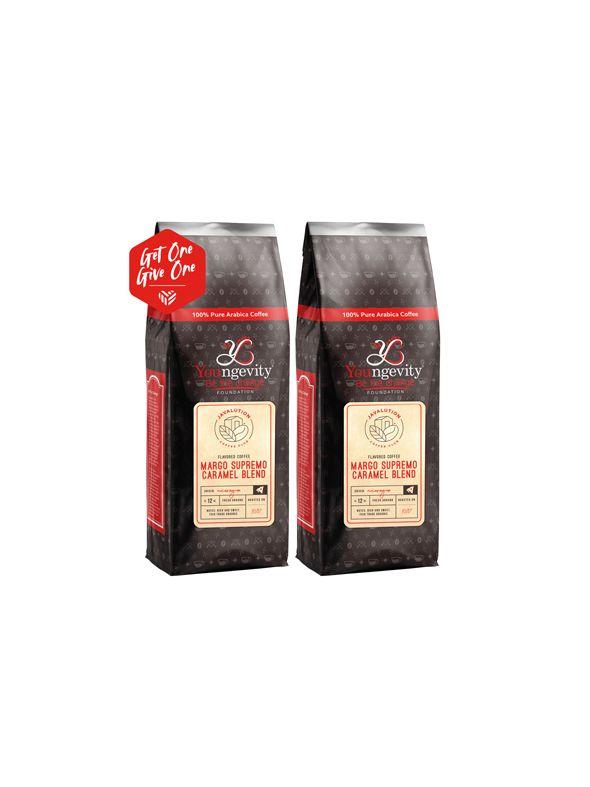 Javalution Club Caramel Flavored Margo Supremo Coffee Limited Edition—Nicaragua Ground (12oz) [QTY: 2 | Get One, Give One FREE]